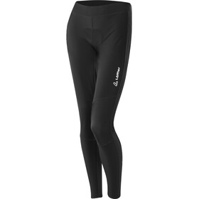 Löffler Thermo hotBOND Reflective Bike Pants Women black